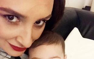 Ivana Kovač, hčerka Miša Kovača, je presrečna mamica!