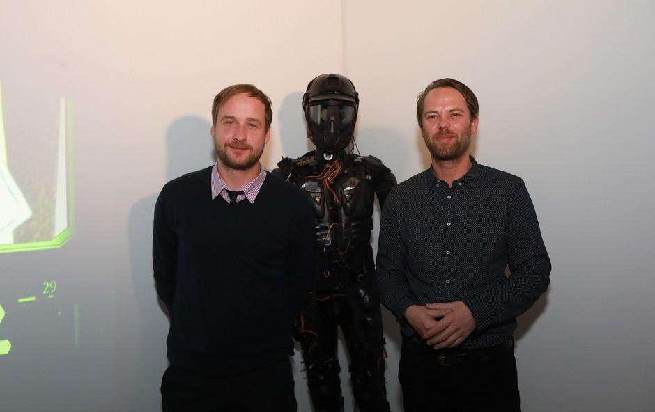 Erik Kapfer in Miha Cojhter, idejna očeta Vzorčnega mesta. (foto: Vzorčno mesto)