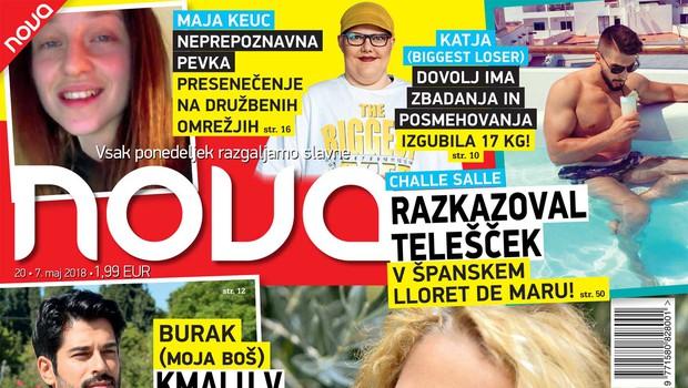 Ota Roš in Polona Jambrek: Voditeljici na POP TV vse bolj razgaljeni (foto: Nova)