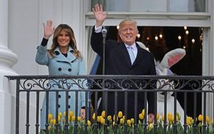Melania in Donald Trump: V Beli hiši živita drug mimo drugega, skoraj se ne vidita