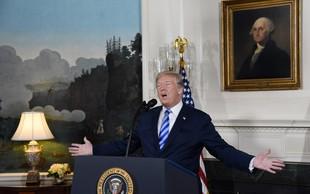 Donald Trump umika ZDA iz jedrskega sporazuma in grozi celemu svetu!