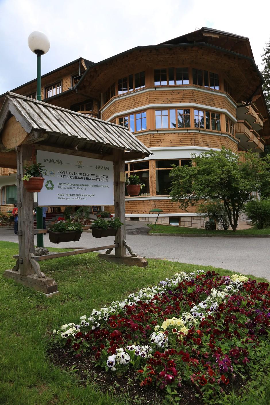 Hotel Ribno zelen zgled na poti do družbe brez odpadkov (foto: Press)