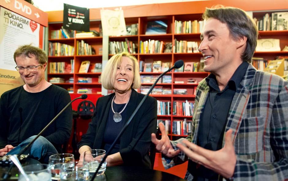 Tadej Golob o pisanju biografije Milene Zupančič (foto: Peter Uhan, matej pušnik, Beletrina)