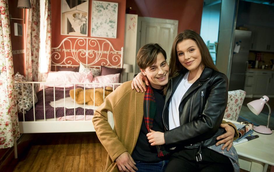 Vesna Ponorac in Dario Nožić Serini: Emocije so pomembnejše od besed (foto: Planet TV)