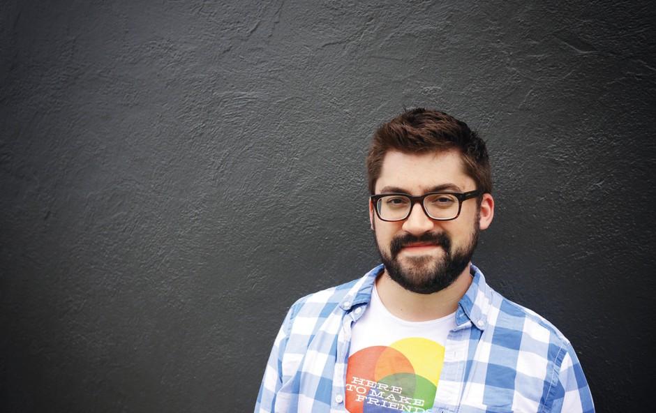 Austin Kleon (grafični oblikovalec): Kadar mi zmanjka idej, likam (foto: Založba Modrijan)