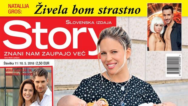 """Vesna Janković: """"Stres je prišel za menoj, imela sem znake izgorelosti."""" (foto: revija Story)"""