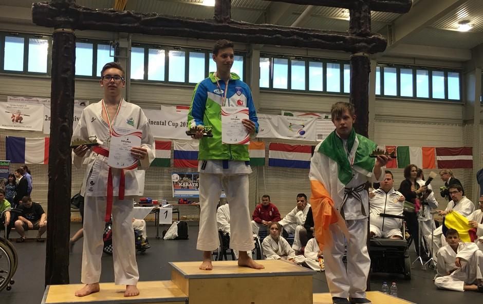 Open I - karate Global World championship para karate 2018 (foto: Press Zveza Sonček)
