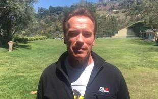 """Arnold Schwarzenegger: """"Naredimo ta planet ponovno velik in zdrav!"""""""