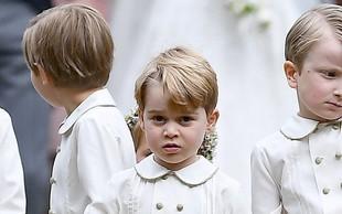 Charlotte in George bosta dobila vsak svojo posebno nalogo na kraljevski poroki
