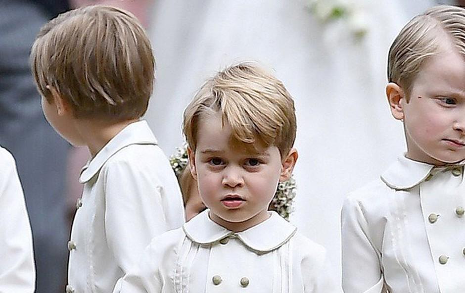 Charlotte in George bosta dobila vsak svojo posebno nalogo na kraljevski poroki (foto: profimedia)