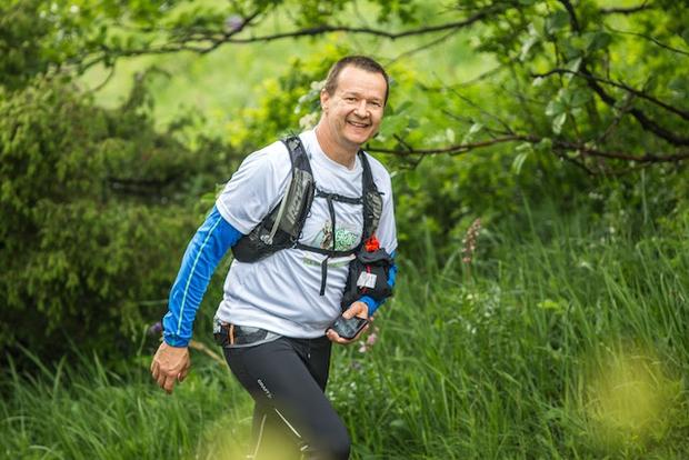 #StandUpMaratonec osvojil prvi vrh (foto: Stand Up Maratonec Press)