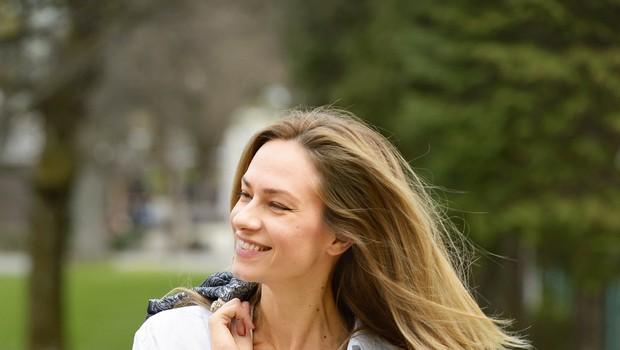Gorka Berden pokazala žgečkljivo fotografijo (foto: Primož Predalič)