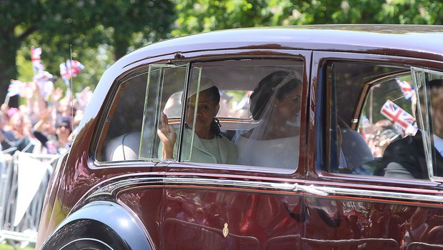 Poglejte si, prvi poročni poljub princa Harryja in Meghan Markle (foto: Profimedia)