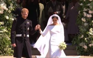Kaj je princ Harry rekel Meghan Markle, ko jo je videl pred oltarjem?