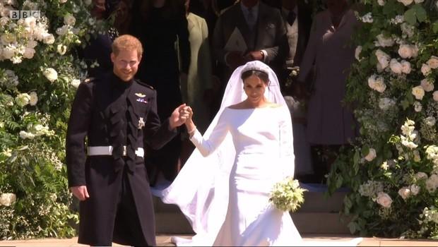 Kaj je princ Harry rekel Meghan Markle, ko jo je videl pred oltarjem? (foto: Profimedia)