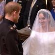 Najlepši trenutki kraljeve poroke: Solze princa Harryja, ko je videl Meghan Markle