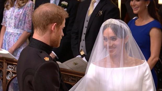Najlepši trenutki kraljeve poroke: Solze princa Harryja, ko je videl Meghan Markle (foto: Profimedia)