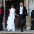 Poglejte si, kakšno obleko je Meghan Markle nosila na sprejemu pri princu Charlesu