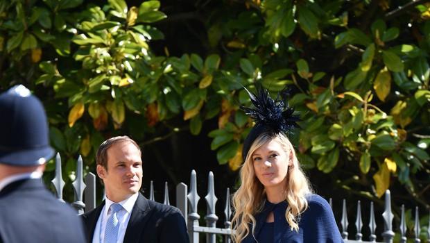 Bivše dekle princa Harryja na kraljevi poroki pokazala žalosten in zamišljen obraz (foto: Profimedia)