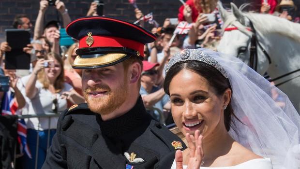 O poroki princa Harryja in Meghan se je zvrstilo kar 5.958.379 tvitov (foto: profimedia)