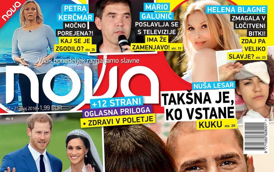 Helena Blagne: Zmagala v ločitveni bitki! (foto: Nova)