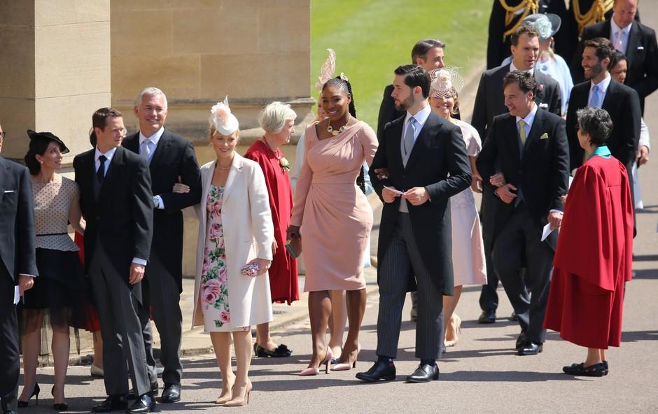 Ne boste verjeli, kakšne čevlje je na kraljevi poroki nosila Serena Williams (foto: Profimedia)