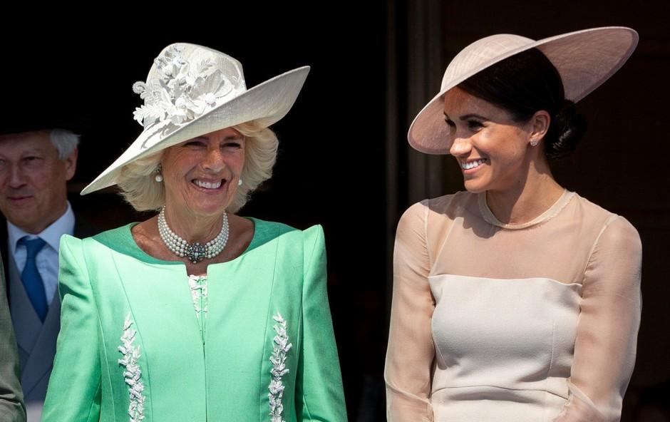 Meghan Markle in Camilla Parker Bowles: Novi najboljši prijateljici? (foto: Profimedia)