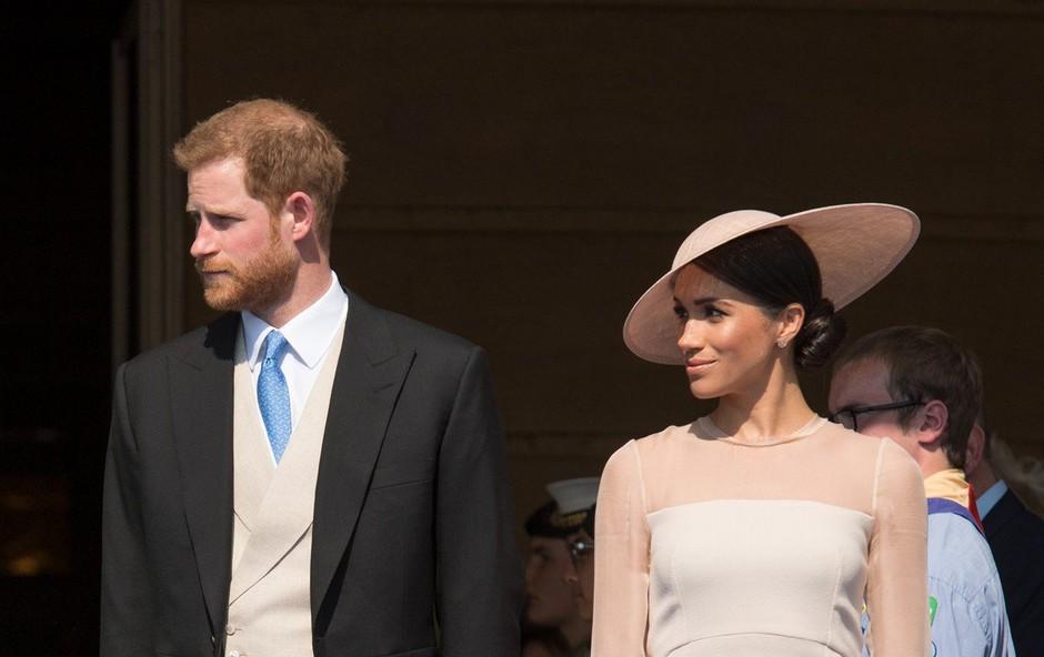 Harry in Meghan Markle namesto na medeni mesec odhajata na dvodnevi oddih (foto: Profimedia)