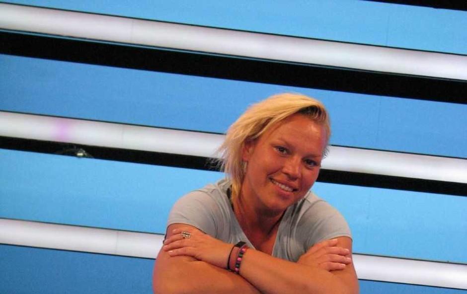 Hišo The Biggest Loser Slovenija je zapustila Rebeka Kanc Markanovič (foto: Aleš Rod)