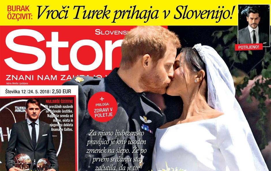 Meghan Markle in princ Harry: Sreča brez predporočne pogodbe (foto: Story)