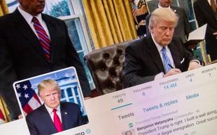 Predsednik Donald Trump ne sme blokirati kritikov na Twitterju!