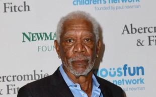 Morgan Freeman se je odzval na obtožbe o spolnem nadlegovanju