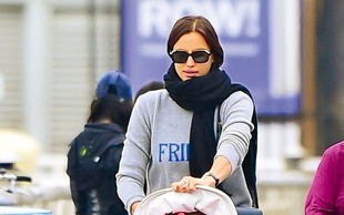Irina Shayk: Modno brv zamenjala za sprehode