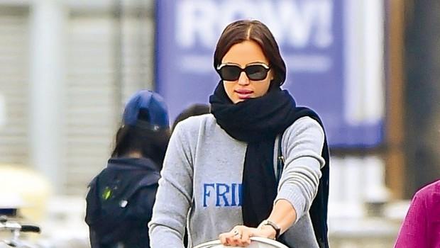 Irina Shayk: Modno brv zamenjala za sprehode (foto: Profimedia)