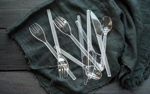 Evropska komisija načrtuje prepoved izdelave in uporabe plastičnega pribora, slamic in drugih plastičnih izdelkov