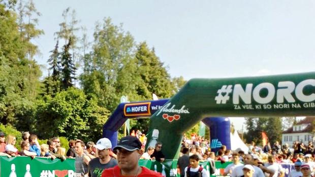 Henrik Lutz izpolnil obljubo in tekel na maratonu! (foto: Osebni arhiv)
