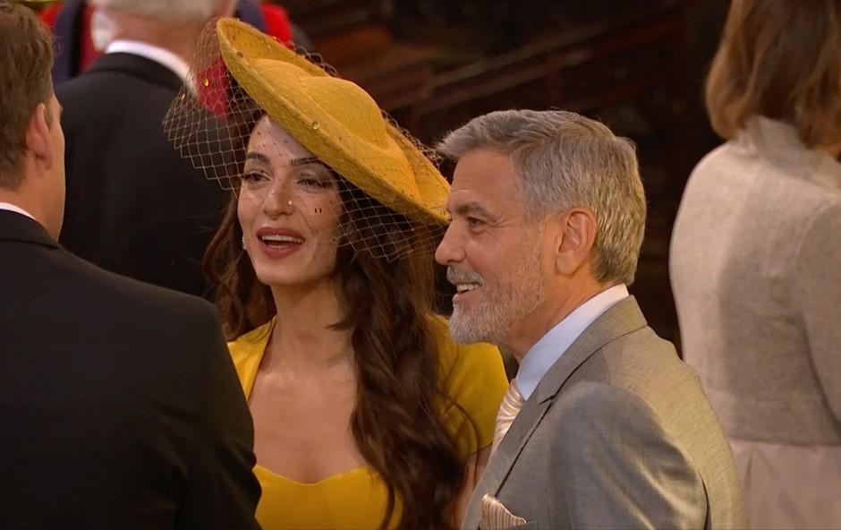 Zdaj je znano, zakaj je bila Amal Clooney povabljena na kraljevo poroko (foto: Profimedia)