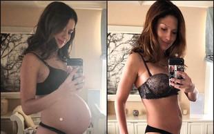 Hilaria Baldwin le 12 dni po porodu pokazala osupljivo telo