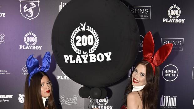 Kaj vse se je dogajalo na zabavi ob izidu 200. številke slovenskega Playboya (foto: Igor Zaplatil)
