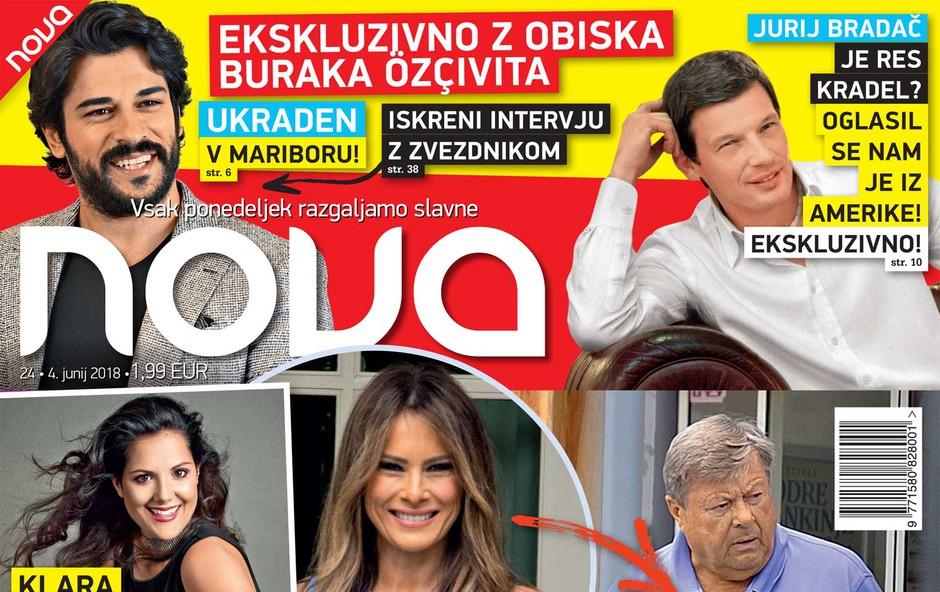 Ekskluzivno: Oče Melanie Trump ujet v Sevnici! (foto: Nova)