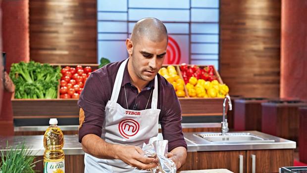 Tibor Baiee najraje kuha po občutku! (foto: Igor Zaplatil, Helena Kermelj)