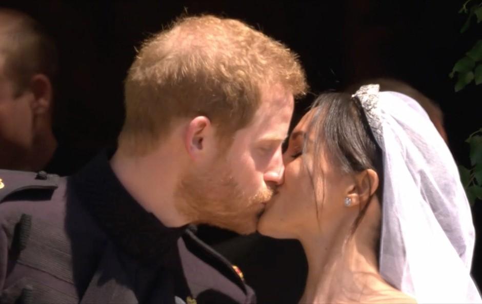 Prijatelji Meghan Markle razkrili, kaj jih je na kraljevi poroki skoraj spravilo v jok (foto: Profimedia)