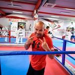 Športni asi dobrodelno okupirali prvaka borilnih veščin Tomaža Barado (foto: Marko Pigac )