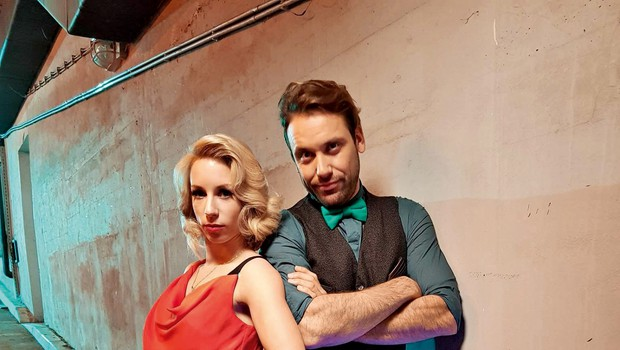 Natalija Gros in Rok Kunaver: Zaljubila sta se v šovu Zvezde plešejo (foto: Primož Predalič)
