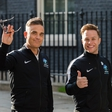 Robbie Williams bežal iz gorečega londonskega hotela