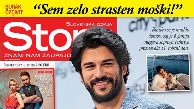 Burak Özçivit je po obisku Slovenije presenetil ženo! (foto: Story)