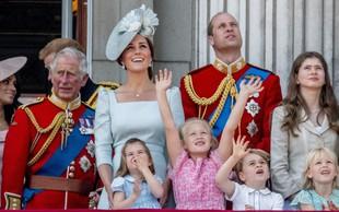 Zakaj princ William na kraljevi paradi ni sedel v kočiji s Kate Middleton?