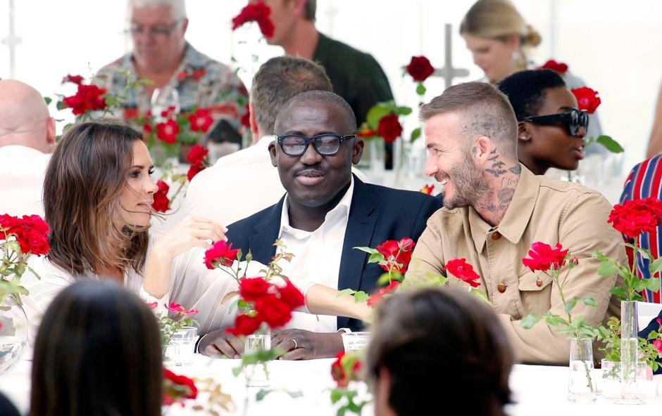 Victoria in David Beckham: Z eno fotografijo utišala govorice o ločitvi (foto: Profimedia)