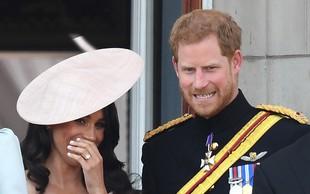 O tem sta princ Harry in Meghan Markle govorila na balkonu Buckinghamske palače