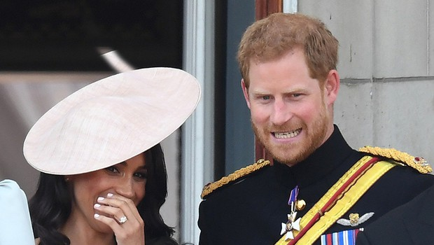 O tem sta princ Harry in Meghan Markle govorila na balkonu Buckinghamske palače (foto: Profimedia)